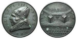 Papal, Callisto III, (1455-1458). Æ ...