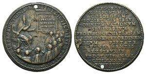 Papal, Gregorio XIII (1572-1585). Æ Medal ...