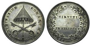 Papal, Pio VII (1800-1823). AR Extraordinary ...