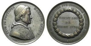 Papal, Pio IX (1846-1878). Æ Extraordinary ...