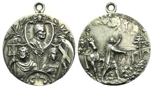Papal, Pio X (1903-1914). Medal 1913 (40mm, ...