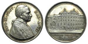 Papal, Pio XI (1922-1939). AR Medal 1928 ...