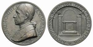 Papal, Pio XII (1939-1958). Æ Medal 1952 ...