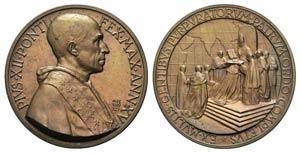 Papal, Pio XII (1939-1958). Æ Medal 1953 ...