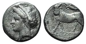 Campania, Neapolis, c. 275-250 BC. AR ...