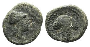 Northern Apulia, Arpi, c. 215-212 BC. Æ ...