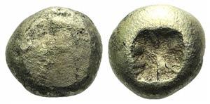 Ionia, Uncertain, c. 650-600 BC. EL Trite ...
