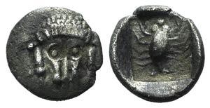 Caria, Mylasa, c. 450-400 BC. AR Hemiobol ...
