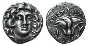 Islands of Caria, Rhodes, c. 250-230 BC. AR ...