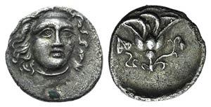 Islands of Caria, Rhodes, c. 229-205 BC. AR ...