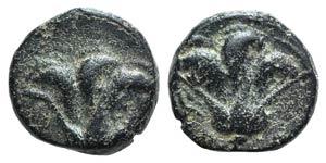 Island of Caria. Rhodes, c. 205-190 BC. Æ ...
