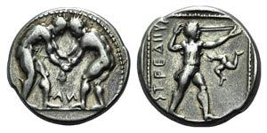 Pamphylia, Aspendos, c. 380/75-330/25 BC. AR ...