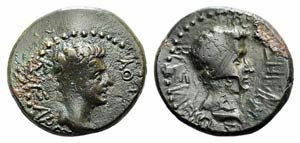 Kings of Thrace, Rhoemetalkes I and Augustus ...