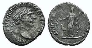 Trajan (98-117). Arabia, Bostra. AR Drachm ...