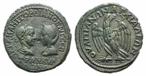 Gordian III and Tranquillina (238-244). ...