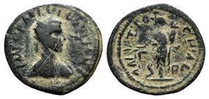 Gallienus (253-268). Pisidia, Antioch. Æ ...