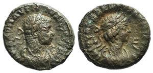 Aurelian and Vaballathus (270-275). Egypt, ...