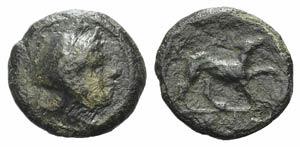 Anonymous, Rome, c. 234-231 BC. Æ (10mm, ...
