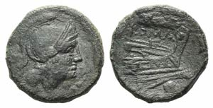 Grain-ear series, Sicily, c. 215-212 BC. Æ ...