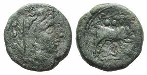 Corn-ear and KA series, Sicily, 211-208 BC. ...