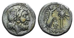 VB series, uncertain mint, 211-208 BC. AR ...