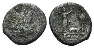 Sow series, Rome, 206-195 BC. AR Victoriatus ...