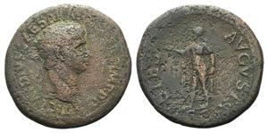 Claudius (41-54). Æ Sestertius (38mm, ...
