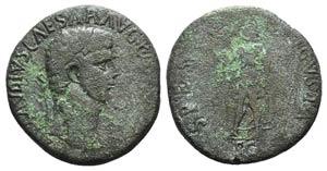 Claudius (41-54). Æ Sestertius (34mm, ...