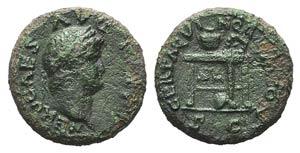 Nero(54-68). Æ Semis (17mm, 3.63g, 6h). ...