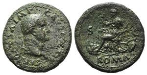 Galba (68-69). Æ Sestertius (36mm, 24.68g, ...