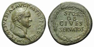 Vespasian (69-79). Æ Sestertius (33mm, ...