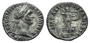 Domitian (81-96). AR Denarius (17mm, 3.19g, ...