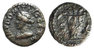 Domitian (81-96). Æ Quadrans (15mm, 2.79g, ...