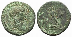 Trajan (98-117). Æ Sestertius (33mm, ...