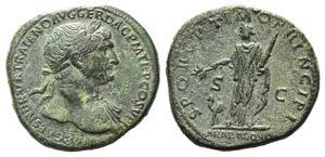 Trajan (98-117). Æ Sestertius (32mm, ...