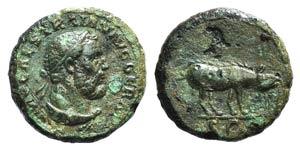 Trajan (98-117). Æ Quadrans (14mm, 2.34g, ...