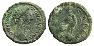 Divus Antoninus Pius (died 161). Æ As ...