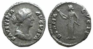 Faustina Junior (Augusta, 147-175). AR ...