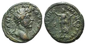 Marcus Aurelius (161-180). Æ As (27mm, ...