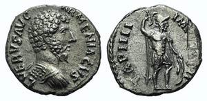 Lucius Verus (161-169). AR Denarius (16mm, ...