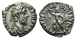 Commodus (177-192). AR Denarius (15mm, ...