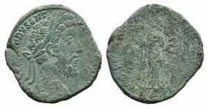 Commodus (177-192). Æ Sestertius (28mm, ...