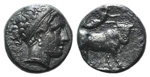 Campania, Neapolis, 350-325 BC. AR Didrachm ...