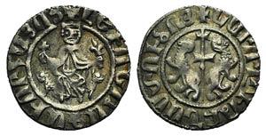 Cilician Armenia, Levon I (1198-1219). AR ...