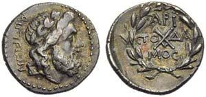 Achaean League, Aigion, Hemidrachm, c. 37-31 ...