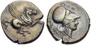 Akarnania, Anaktorion, Stater, c. 350-300 ...