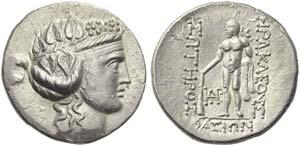 Islands of Thrace, Thasos, Tetradrachm, post ...