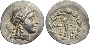 Aeolis, Myrina, Tetradrachm of ...