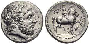 Kings of Macedonia, Philip II (359-336, and ...