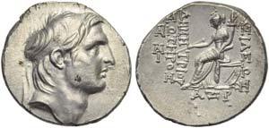 Seleucid kings of Syria, Demetrios I ...